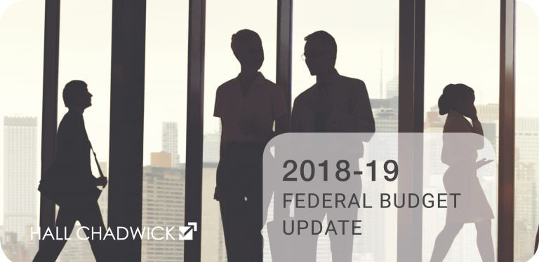 2018-19 Federal Budget Update