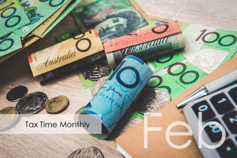 Tax Time Monthly: February 2019