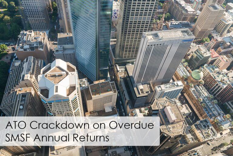ATO Crackdown on Overdue SMSF Annual Returns
