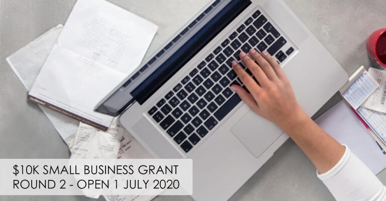 $10k Small Business Grants – Round 2 Opening 1 July 2020