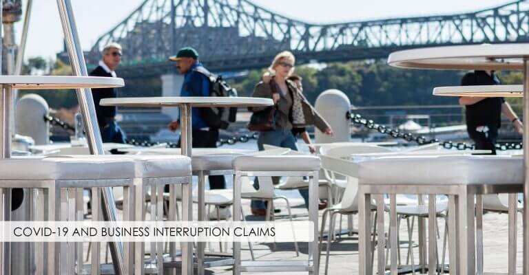 COVID-19 and Business Interruption Claims